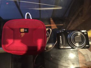Fujifilm camera with case for Sale in Scottsdale, AZ