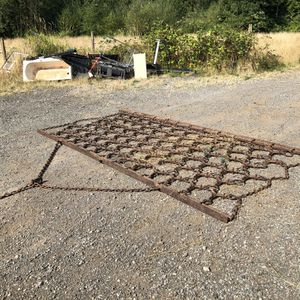 Large Iron Field Drag/Harrow for Sale in Duvall, WA