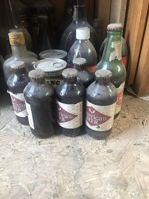 Antique glass bottles for Sale in Brandywine, MD