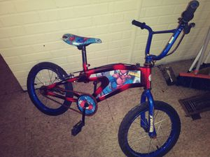 Spiderman children's bicycle. for Sale in Cleveland, OH