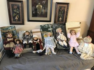 Antique dolls perfect condition makes great Xmas gift for Sale in Port St. Lucie, FL