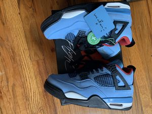 Travis Scott Air Jordan 4s Retro Size 9 for Sale in Brooklyn, NY