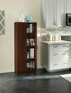 👉Hello💯ClosetMaid 1308 Freestanding Kitchen Organization Pantry Cabinet, Dark Cherry😉💞👈 for Sale in Sugar Land, TX
