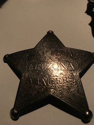 Captain Arizona Rangers Badge for Sale in Dagsboro, DE