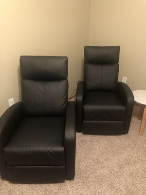 Reclining chairs with messaging for Sale in East Wenatchee, WA