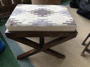Ottoman stool seat for Sale in Kentfield, CA