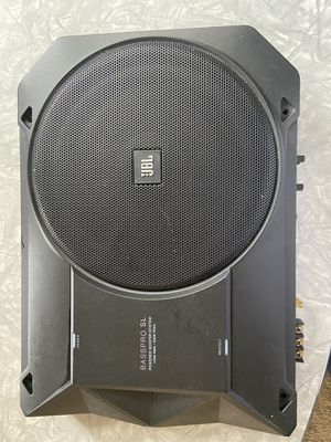 "JBL BASSPRO SL 8"" Powered Subwoofer w/ Harmon Remote Control and Cable for Sale in Watsonville, CA"