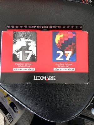 Printer Cartridge Lexmark twin pack for Sale in Florence, SC