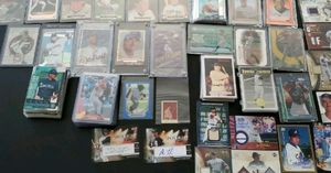 200+ Assorted Baseball Card Lot Stars, Rookies, Minor Stars, Auto's, Relics for Sale in Rockville, MD