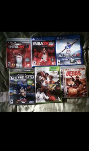 PS3, PS4, XBOX360 Games GREAT Condition for Sale in Miami Gardens, FL