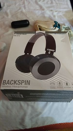 Naxa backspin headphones for Sale in Buena Park, CA
