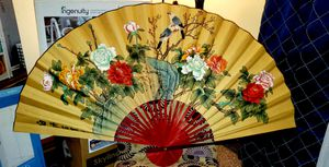 HOME DECOR JAPANESE FAN for Sale in North Providence, RI