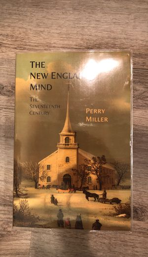 The New England Mind - book by Perry Miller in pristine condition w/cover for Sale in Downey, CA