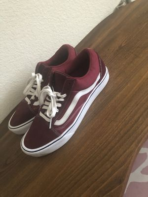 Vans men's size 10.5 used once for pictures only for Sale in Stockton, CA