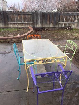 Antique Patio table for Sale in West Jordan, UT