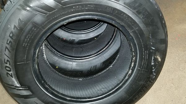 4 Tires 205 75 14 Sentury Touring 99 Tread Dot 3616 For Sale In