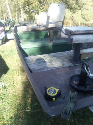 Boat,trayler, electric motor for Sale in OH, US