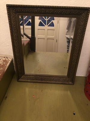 Pottery Barn resin mirror for Sale in Lynnwood, WA