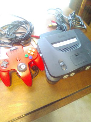 Nintendo 64 counsel with controller for Sale in Apopka, FL