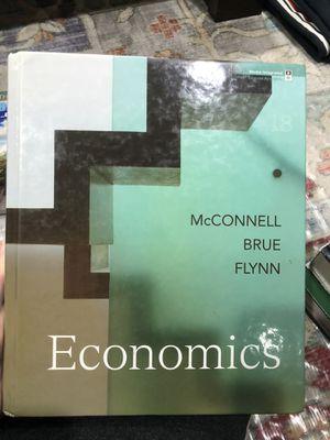 Economics18th edition McConnel Brue and Flynn for Sale in Orange, CA