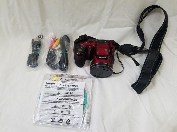 Nikon L810 + case + Accessories