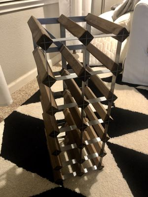 Wood Wine Rack for Sale in Pleasant Hill, CA
