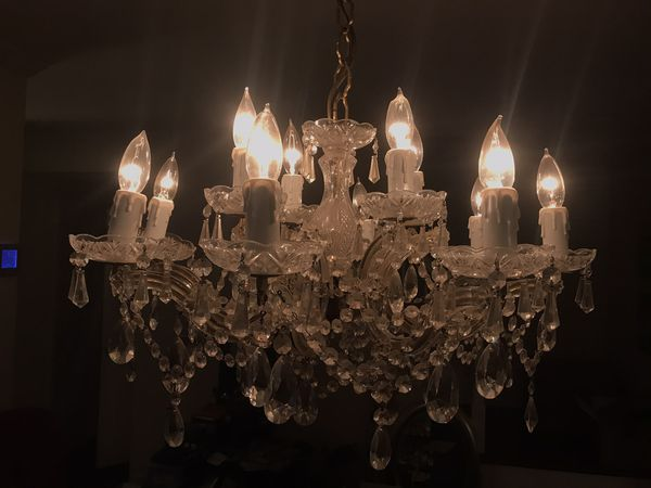 Authentic Vintage German Chandelier