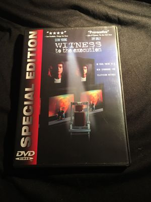Witness to the execution SPECIAL EDITION Sean Young Tim Daly DVD GREAT CONDITION for Sale in La Habra, CA