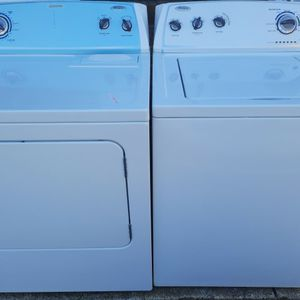NEWER MODEL WHIRLPOOL WASHER AND DRYER for Sale in Raleigh, NC