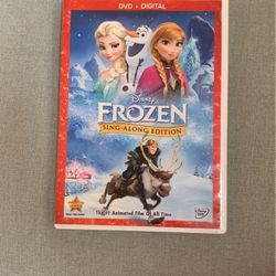 Frozen Sing-Along Edition - DVD and Digital Versions for Sale in Baltimore,  MD