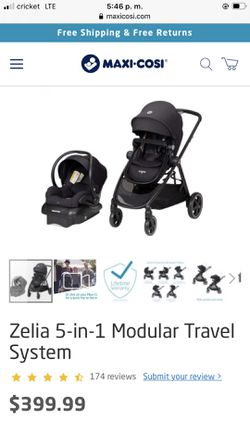 Maxi-Cosi 5 In 1 Modular Travel System for Sale in Madera,  CA