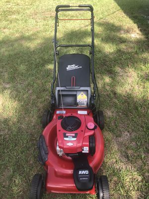 Lawn mower craftsman self propelled AWD all wheel drive all terrain all purpose for Sale in Dover, FL