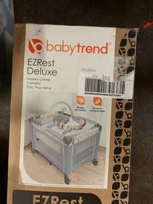 EZRest Deluxe Nursery Center Playard Changing table for Sale in Tacoma, WA