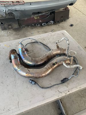 2009 bmw 335i twin turbo down pipes for Sale in Fontana, CA