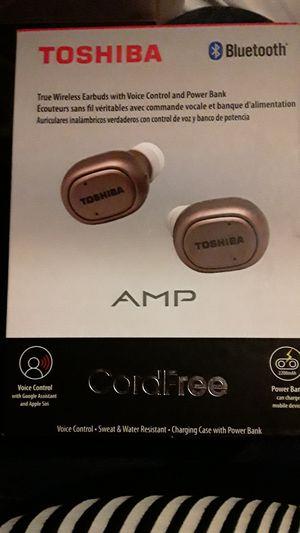 Toshiba bluetooth headphones for Sale in Kent, WA