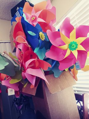 Pinwheels of different colors for Sale in Seminole, FL