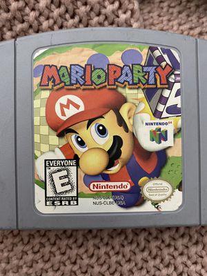 Mario party Nintendo 64 for Sale in Orange, CA