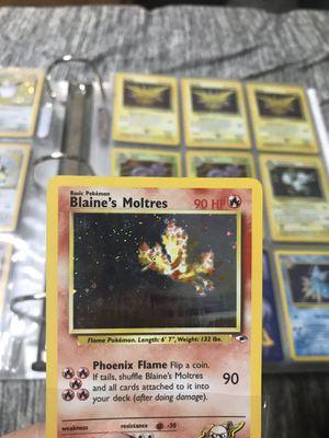 Blaine's Moltres Pokemon card for Sale in Bristol, CT