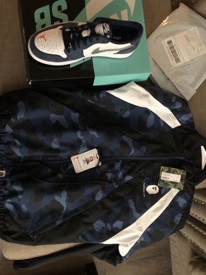 Bape jacket size Small tried on for Sale in Tampa, FL
