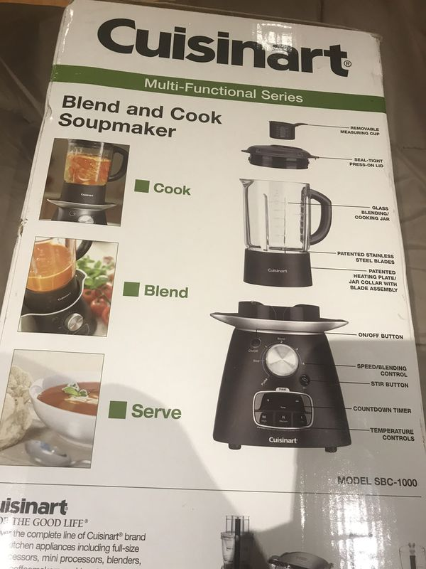 Cuisinart multi functional Blend and cook soup maker and smoothies makes a great gift
