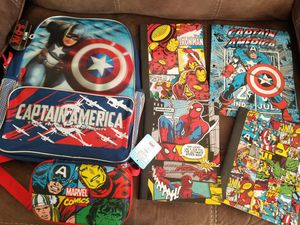 New Marvel Captain America and Avengers Kid's School Supplies Lot for Sale in Laveen Village, AZ