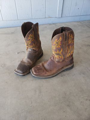 Size 12D Justin's leather boots for Sale in Chandler, AZ