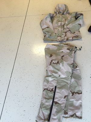 Military DCU goretex parka and trousers for Sale in Riverview, FL