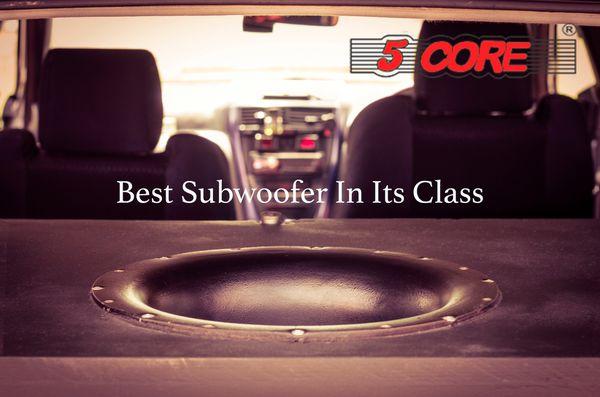 "5 Core Car Woofer 12"" 12-04"