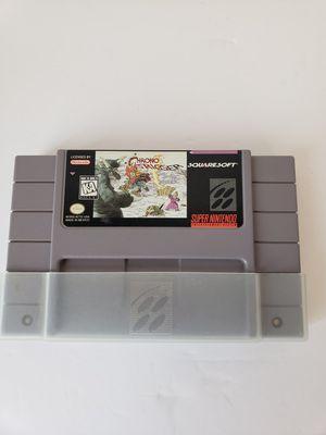 Rare super Nintendo chrono trigger game for Sale in Peoria, AZ