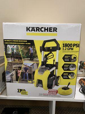 Karcher 1800 PSI TruPressure 1.2 GPM Electric Pressure Washer w/ Surface Cleaner for Sale in Warren, MI