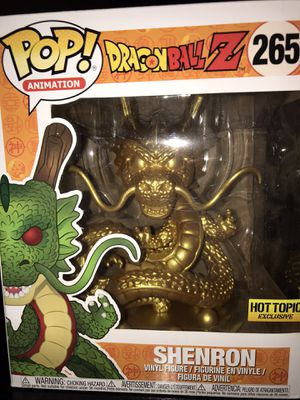 Shenron gold dragon dragonball z funko for Sale in Phoenix, AZ