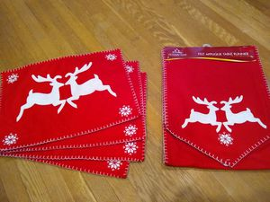 Christmas table runner for Sale in South Corning, NY