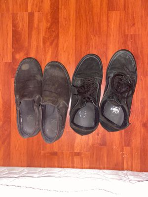 Black vans size 12 for Sale in Sacramento, CA