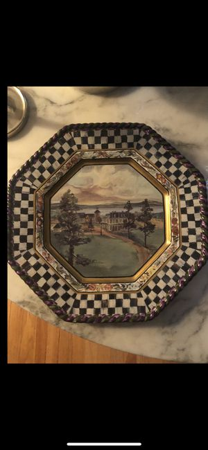 MacKenzie -Childs Machlachlan Dinner plate for Sale in Grosse Pointe Farms, MI